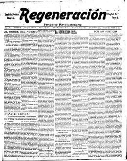 Ei^ishSedion Bqe4. Periódico Revolucionario MANIFIESTO V