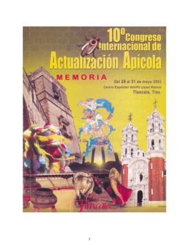 Congreso Internacional de Actualización Apícola. 29 al 31