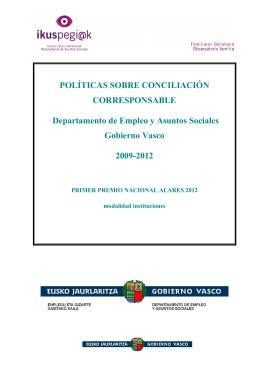 Políticas sobre conciliación corresponsable