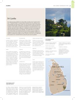 Sri Lanka - Comoviajar.com