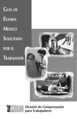 GUIA DE EXAMEN MEDICO SOLICITADO POR EL TRABAJADOR