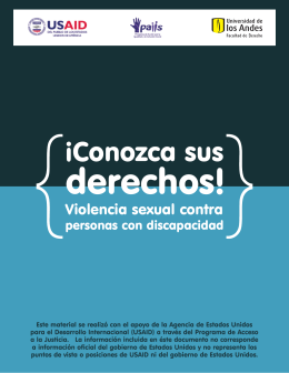 ¡Conozca sus Derechos! - Women Enabled International
