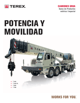 Truck Cranes Range Brochure LZ