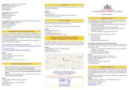 Martes 15,30.17,3o - Settore Servizi al Cittadino