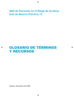 12- Glosario de términos y recursos