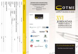JORNADAS - Colegio Oficial de Titulados Mercantiles y Empresariales