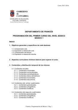 Básico 1 - EOI Torrelavega