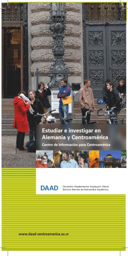 Estudiar e investigar en Alemania y Centroamérica