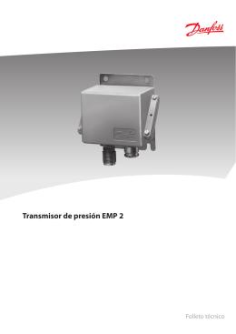 Transmisor de presión EMP 2