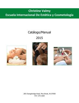 Christine Valmy Escuela Internacional de Estética y Cosmetología