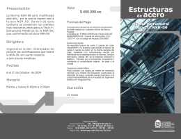Folleto curso de estructuras metalicas UN Oct_2009