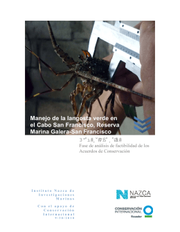 Publication: Luna, S. 2010. Feasibility Analysis for applying marine