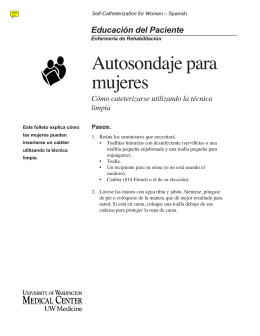 180773 Women Spanish - UWMC Health On-Line