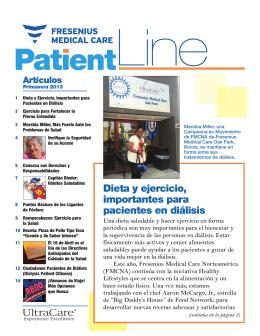 PatientLine primavera 2013