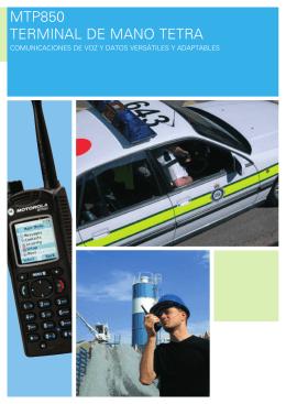 MTP850 Terminal Portátil – Brochure