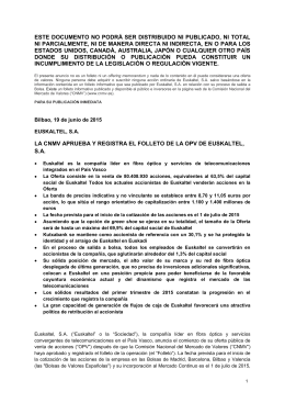 ESTE DOCUMENTO NO PODRÁ SER DISTRIBUIDO NI
