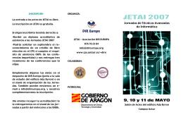 tríptico en pdf - Universidad de Zaragoza