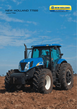 Spec T7000 - New Holland