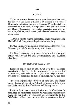Volumen III.- Notas