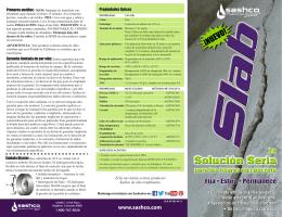 Slab Brochure SP