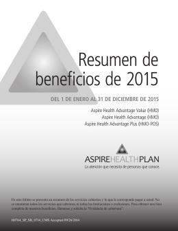 beneficio - Aspire Health Plan