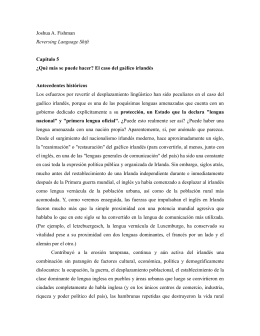 Joshua A. Fishman Reversing Language Shift. Capítulo 5. PDF 221Kb