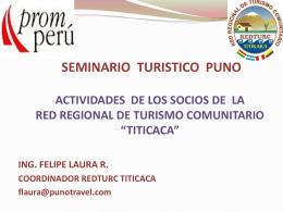 Presentacion Turismo Rural Comunitario