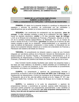 LS-GEV/27/007/05 - Gobierno del Estado de Veracruz