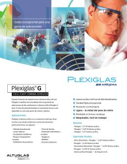 Plexiglas® G - Spanish