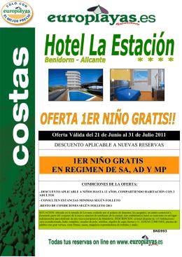 (BND 993 HOTEL LA ESTACI\323N- NI\321OS GRATIS)