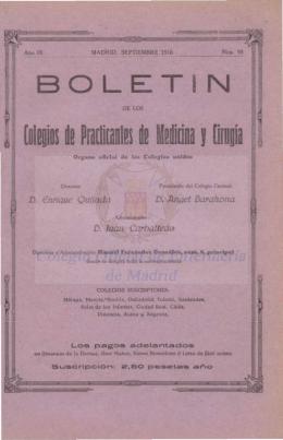 Año IX. Nº. 98a Septiembre 1916