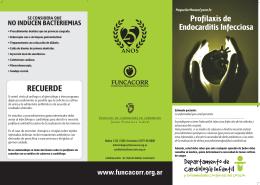 ENDOCARDITIS Infantil - Instituto de Cardiología de Corrientes