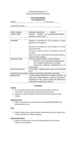 COLEGIO NELSON MANDELA I. E. D Resolución 08