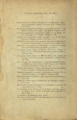 PUBLICACIONES DEL MUSEO. - Biblioteca digital del Real Jardín
