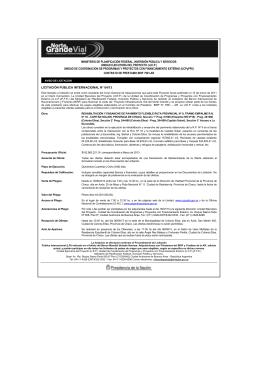 ministerio de planificación federal, inversión pública y servicios