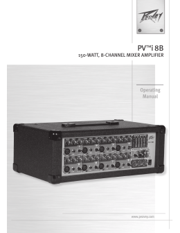PV™i8B Operating Manual