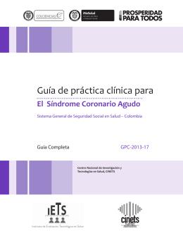 Descargar PDF - Guías de Práctica Clínica