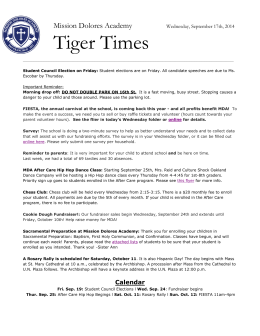 Tiger TImes.docx - Mission Dolores Academy