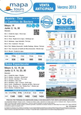 22-03-13 Austria-Tirol y Castillos Baviera - Mar
