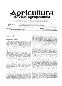 143 - Ministerio de Agricultura, Alimentación y Medio Ambiente