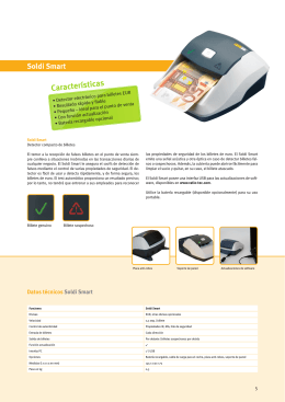 Descargar Folleto pdf - Contadores y detectores de billetes falsos