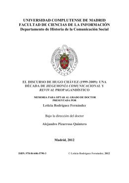 APROXIMACIÓN HISTÓRICA - E-Prints Complutense