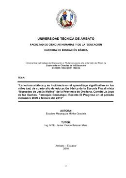 GRÁFICO 6 - Repositorio Universidad Técnica de Ambato