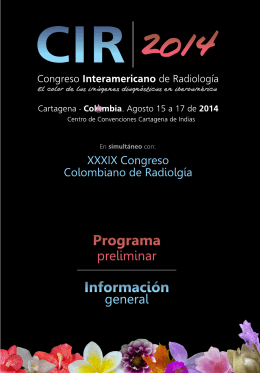 Folleto CIR2014 PDF.cdr - CIR . Colegio Interamericano de
