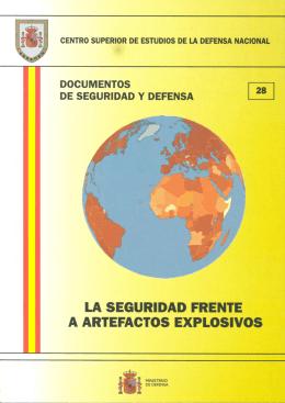 La seguridad frente a artefactos explosivos