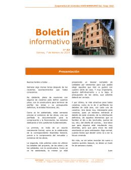 Boletín informativo Cean Bermudez - nº 5[...]
