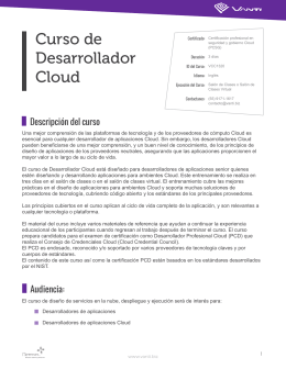 Cloud Developer