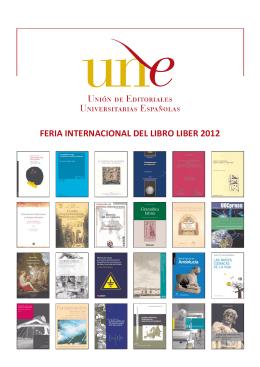 folleto feria del libro 2012