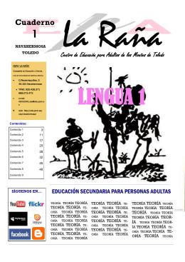 1_LEN_TEORIA 2015 - CEPA La Raña, Navahermosa