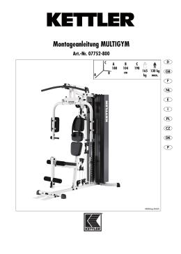 Montageanleitung MULTIGYM